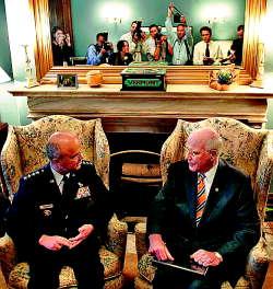 Gen. Hayden, Sen. Leahy