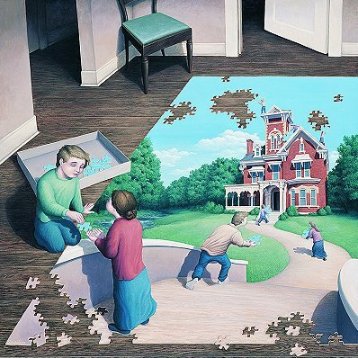 Rob Gonsalves, Unfinished Puzzle