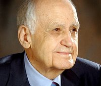 photo of an aged Maurice Hilleman