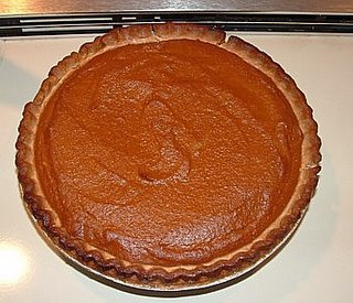Pumpkin and Apple Butter Pie