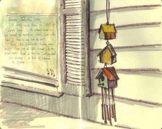 birdhouse chimes
