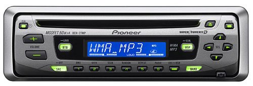 Pioneer DEH-27MP CD Receiver w/ MP3/WMA Playback