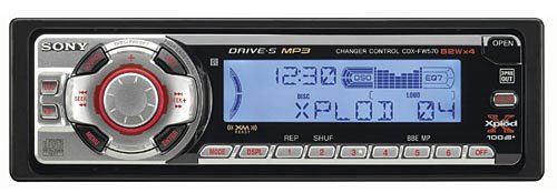 Sony Xplod CD Receiver/Changer Controller/MP3 Player, CDX-FW570