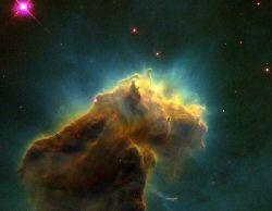 Star Factory as imaged by the Hubble Telescope