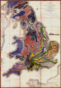 Geological Map of England and Wales and Part of Scotland