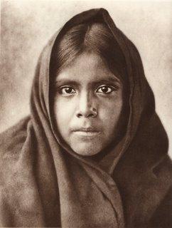 Indienne, photo de Edward S.Curtis