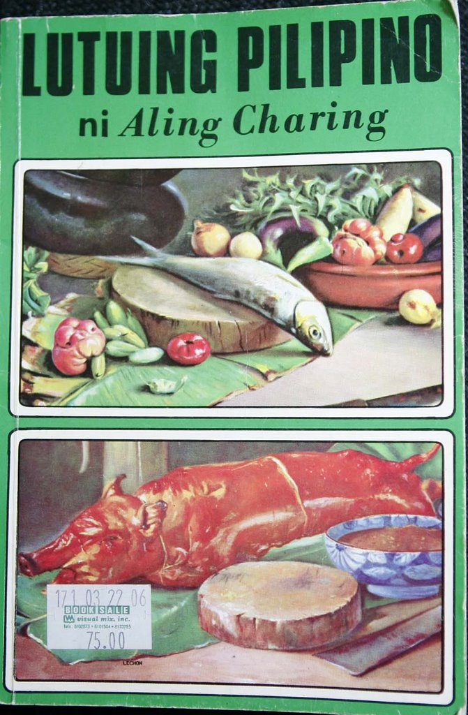 The Theoretical Cook: Pinoy Cookbook Review: LUTUING PILIPINO ni Aling  Charing (1969)