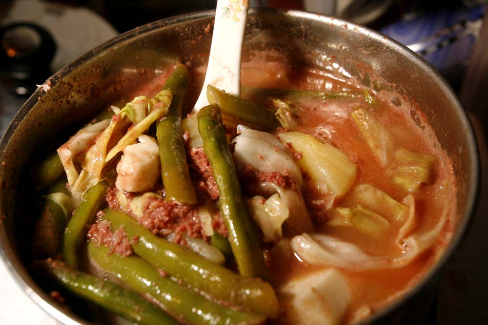 The Theoretical Cook Sinigang Na Corned Beef