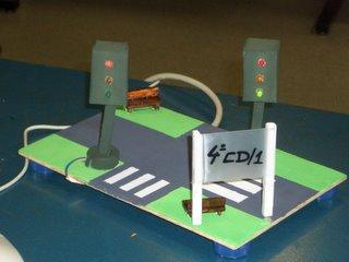 cruce controlado por semaforos