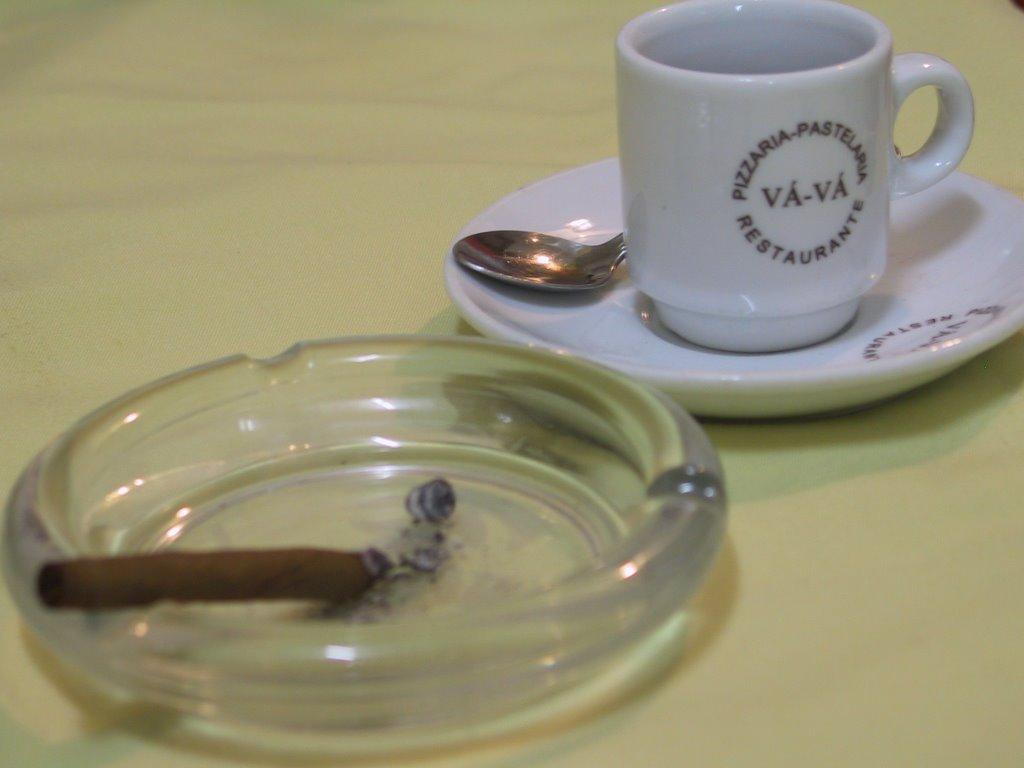 Fumagem deixada desmaio