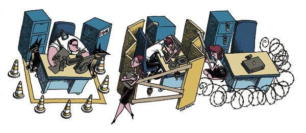 V ctor rivas ilustrador ambiente de trabajo for Ambiente de trabajo