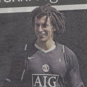 Rio Ferdinand is Sideshow Bob from The Simpsons