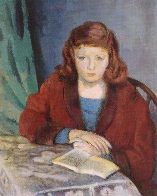 Girl Reading (Anna)