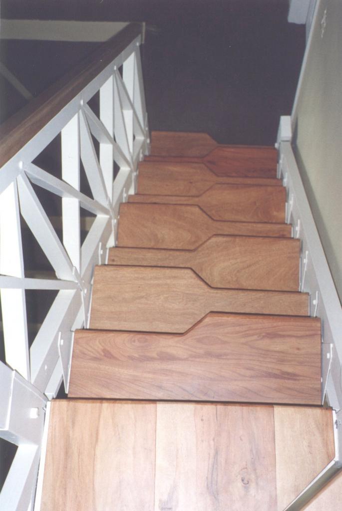 escaleras de pie derecho