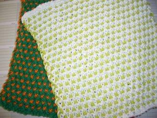 Free Patterns: Garter Slip Stitch Dishcloth!