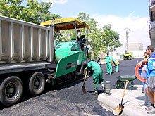 Imagen de la operación asfalto
