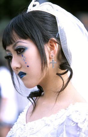 Cool bride picture