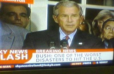 Bush is worst disaster ?