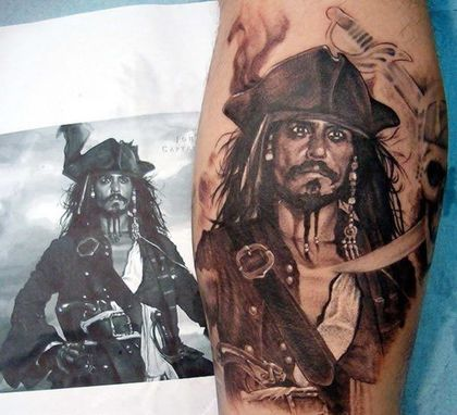 Pirate-Tattoo