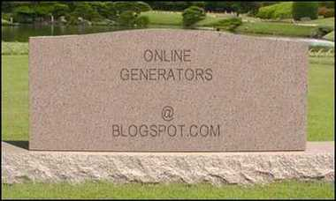 Tombstone Generator