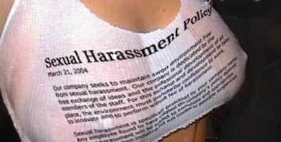 Funny Harassment Policy