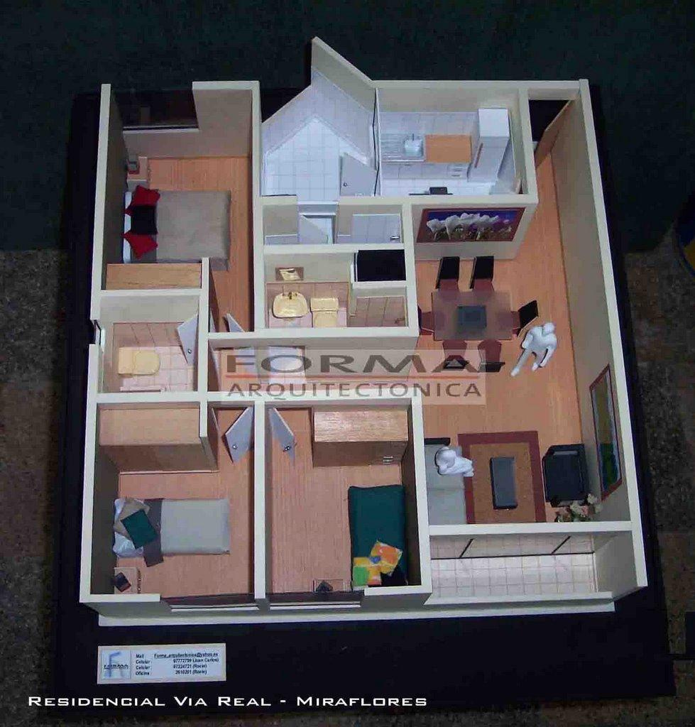 Arquitectura interiores dise o maquetas for Casa de diseno henry beltran