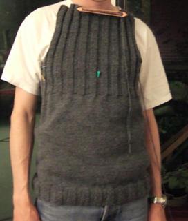 jesper modeling sweater