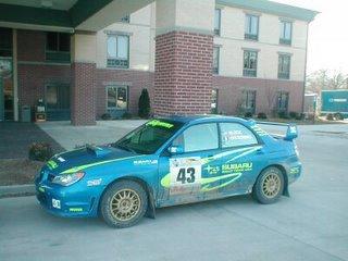 Ken Block Subaru