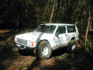 lifted jeep cherokee flex