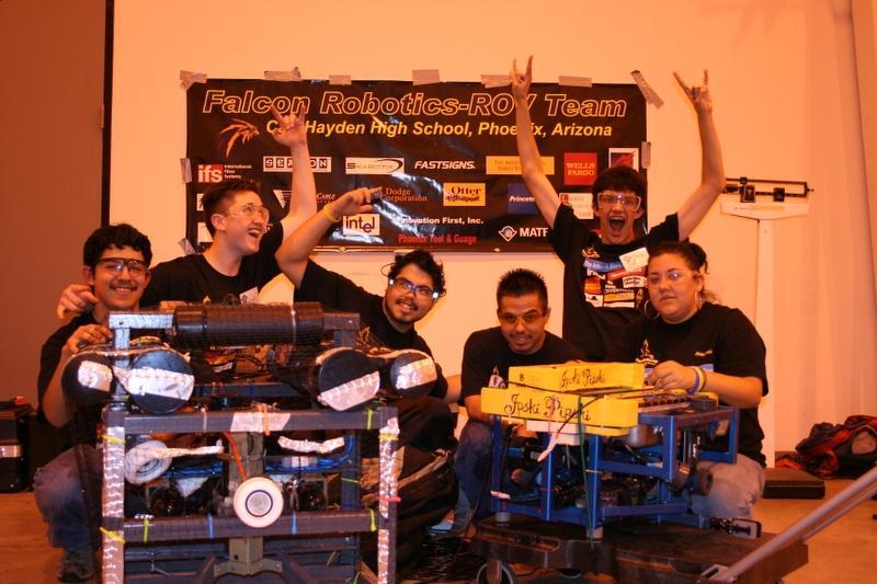 Carl Hayden H S Robotics Team