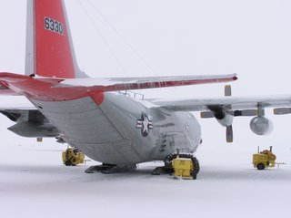 LC-130 with ice