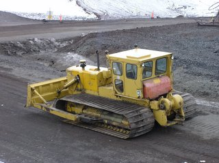 Stretch d8 bulldozer