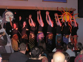 Belly Dancing at the Soiree