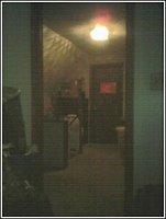 My door frame -- the door had been removed by my uncle