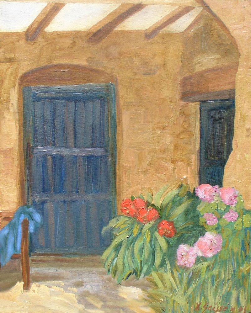 Pinturas de ximena geisse - Cuadros de casas de campo ...