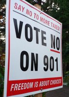 SAY NO TO MORE TAXES! | VOTE NO ON 901