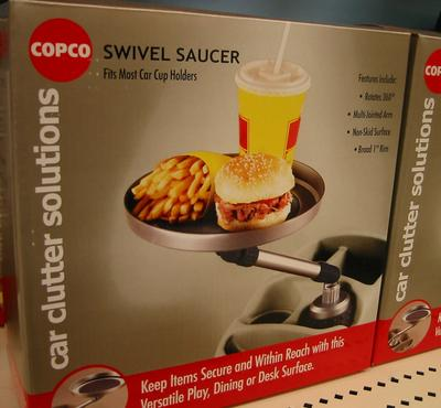 COPCO Swivel Saucer