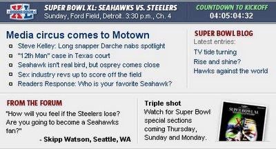 Seahawks, Seahawks, SEAHAWKS!