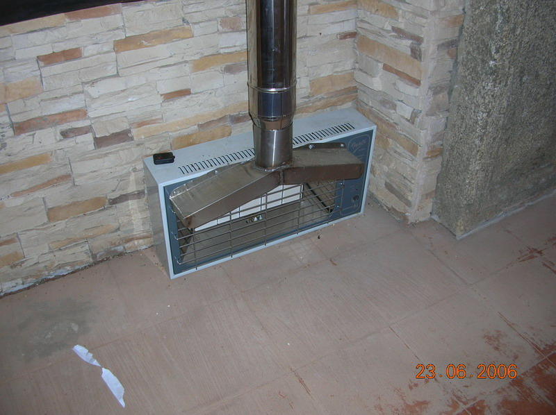 Cogeneracion casera junio 2006 - Calefaccion lena radiadores ...