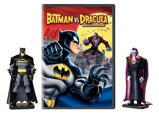 DVD with action figures
