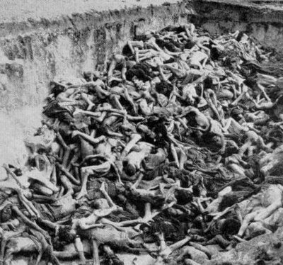 Mass grave at Belsen