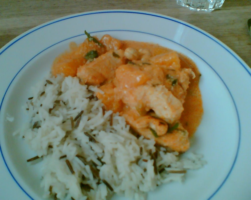 Beurre et pain: Mango Chicken Curry
