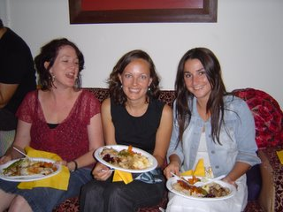 L-R: Joeley, Tara, Anthea (a veteran of Thanksgiving