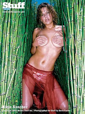 Kiele Sanchez sexy Stuff Magazine Shoot