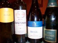 buenas botellas... y mejor vino