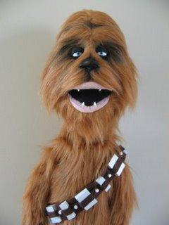 Chewie Puppet