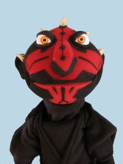 Darth Maul Puppet