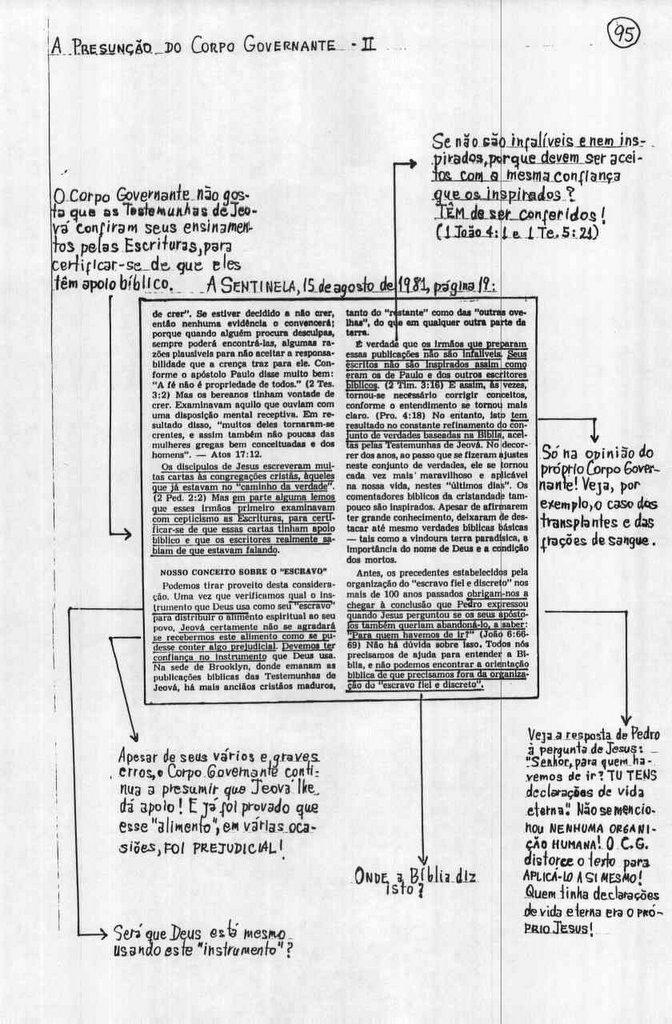 A Presunção do Corpo Governante (2)