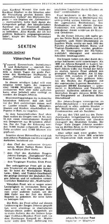 Der Spiegel, 19 de Julho de 1961, p. 38