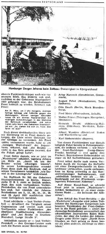 Der Spiegel, 19 de Julho de 1961, p. 39